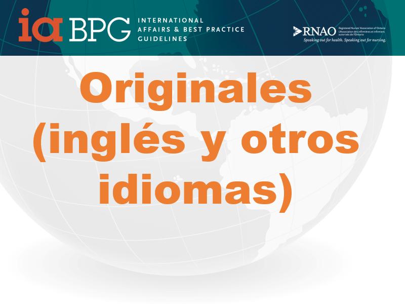 Enlace a Guías en inglés y otros idiomas
